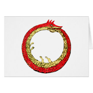 Dragon Ouroboros dragon Card