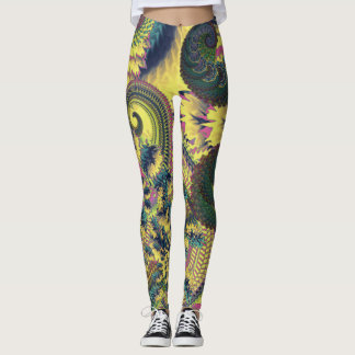 Dragon Tails and Fire Crackers Leggings