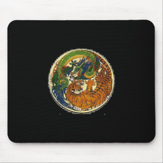 DRAGON TIGER MOUSE PAD