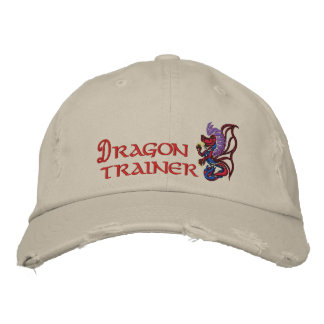 Dragon trainer embroidered baseball caps