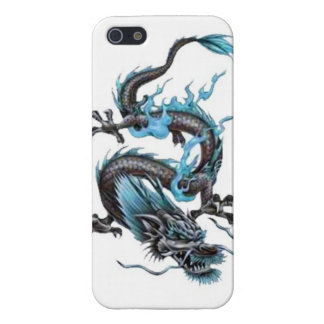 Dragon tribal art tattoo cool color design iPhone 5/5S case