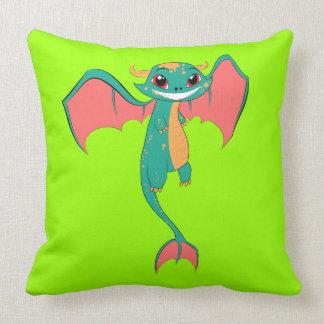 Dragon Wings, Cute Cartoon Pillows