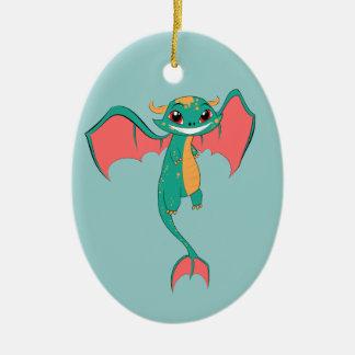 Dragon Wings, Cute Cartoon Ornaments