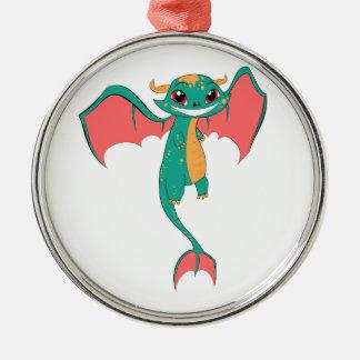 Dragon Wings, Cute Cartoon Christmas Ornaments