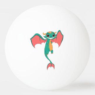 Dragon Wings, Cute Cartoon Ping-Pong Ball