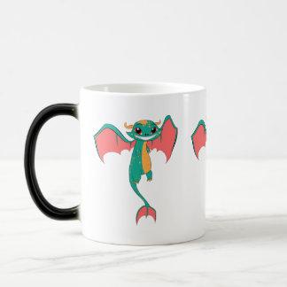 Dragon Wings, Cute Cartoon Mugs