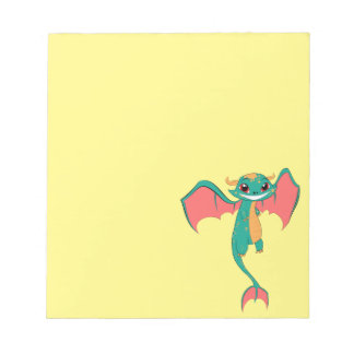 Dragon Wings, Cute Cartoon Note Pads