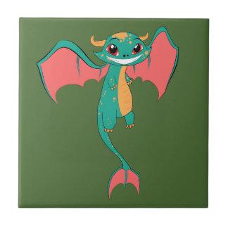 Dragon Wings, Cute Cartoon Tile