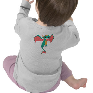 Dragon Wings, Cute Cartoon Tee Shirts