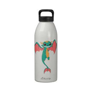 Dragon Wings, Cute Cartoon Reusable Water Bottles