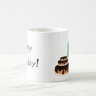 Dragon with cae - Mug
