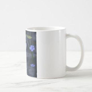 Dragonfly, Lillies and Waterfalls Coffee Mug