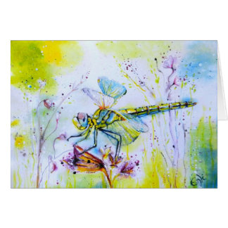 Dragonfly Touch Greeting Card