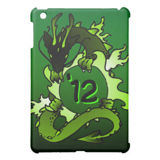 "Dragons ""Class Of"" Black and Green Cover For The iPad Mini"