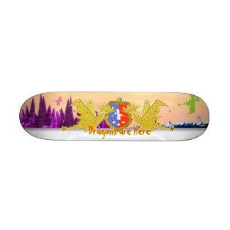 Dragons Crest Skateboard