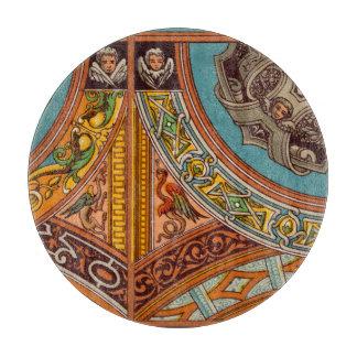 Dragons & Gargoyles Glass Cutting Board