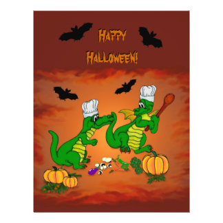Dragons - Happy Halloween ! Today I will cook Flyer