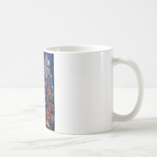 Dragon's Library, classic mug