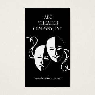 Drama Club or Actress/Actor Business Card