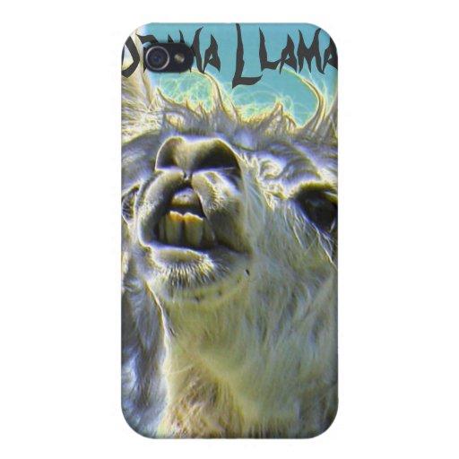 Drama Llama, Drama Llama! Cases For iPhone 4