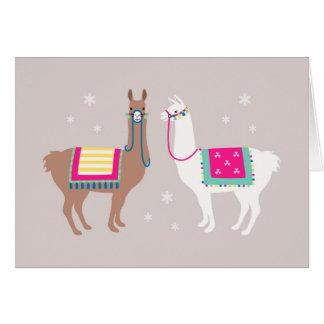 Drama Llama Greeting Card