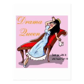 Drama Queen Postcard