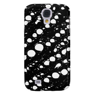 Dramatic Black&White Abstract Galaxy S4 Case