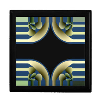 Dramatic! Colorful Abstract Gift Box