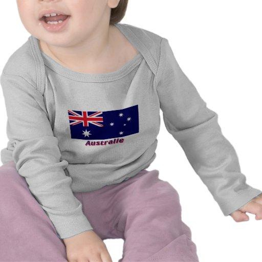 Drapeau Australie avec le nom en français Shirt