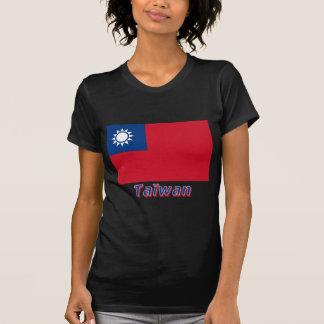 Drapeau Taïwan avec le nom en français Shirt