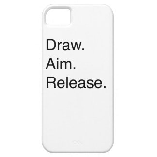Draw. Aim. Release Case For The iPhone 5