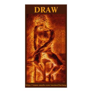 """DRAW"" Custom Fine Art Photocard Photo Card"