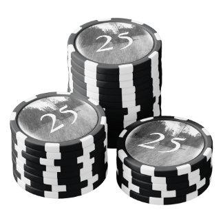 Drawing pound small Island Poker Chips