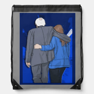 Drawstring Backpack BERNIE N JANE LOVE