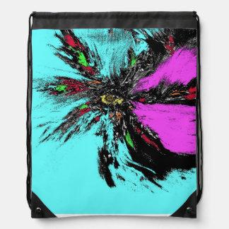 Drawstring Backpack by Pari Chumroo