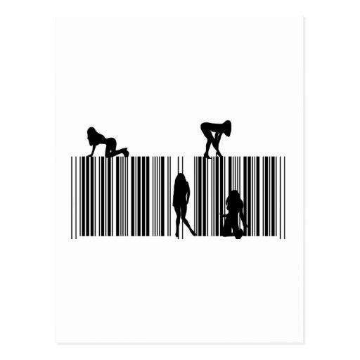 Dream Bar Code Postcard