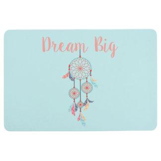 Dream Big Dreamcatcher Bohemian Dream Catcher Floor Mat
