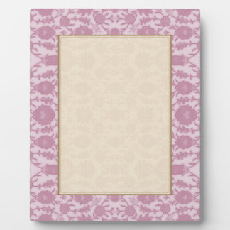 Dream Floral in Pink Plaque
