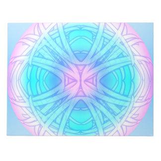 Dream Orb Mandala Notepad