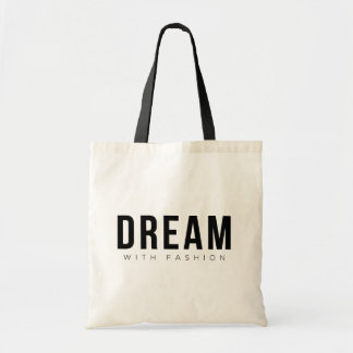 Dream With Fashion Canvas Bags