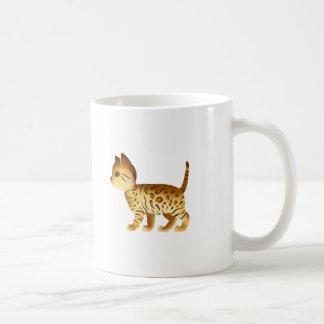 DreamAfrica: Cute Kitten Basic White Mug