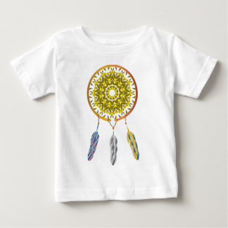 Dreamcatcher with Three Feathers Baby T-Shirt