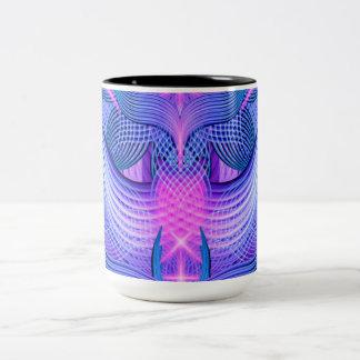 Dreaming Frequency Two-Tone Coffee Mug