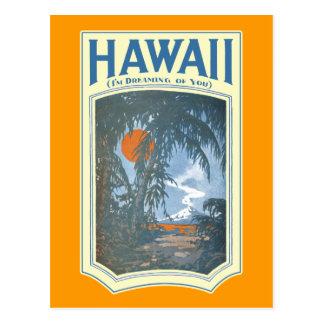 Dreaming of Hawaii Postcard