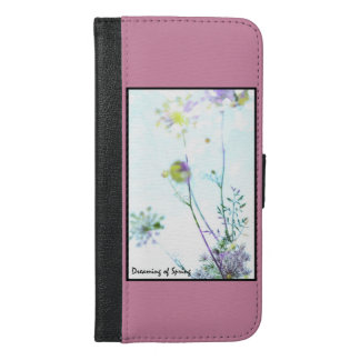 Dreaming of Spring iPhone 6/6s Plus Wallet Case