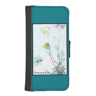 Dreaming of Spring iPhone SE/5/5s Wallet Case