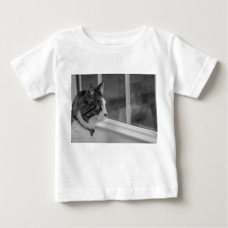 Dreaming Of Warmer Weather Grayscale Baby T-Shirt