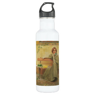 Dreams by Vittorio Matteo Corcos 1896 710 Ml Water Bottle