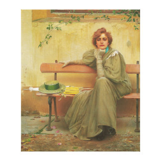 Dreams by Vittorio Matteo Corcos 1896 Canvas Print