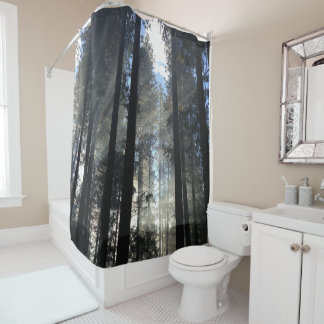 """Dreams In The Forest"" Art ""Shower Curtain """